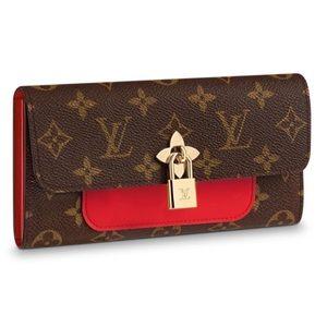 louis vuitton flower wallet